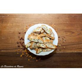BISCOTTI noisette-pistache-abricot